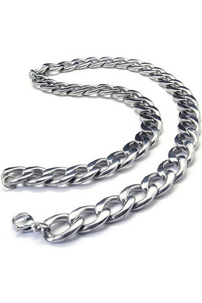 Jewelry Men's necklace, Stainless steel large gravity king motorcycle chain