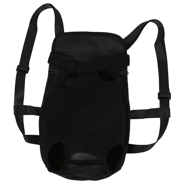 Backpack Bag For Pet Dog Travel Color Black Size L