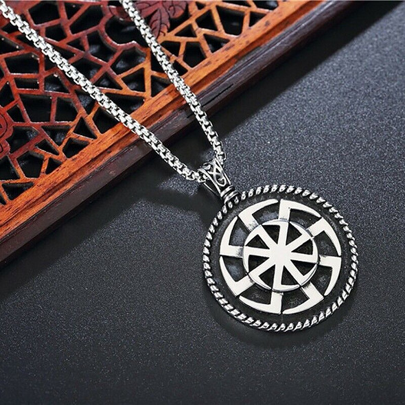 Sun Stainless Steel Pendant Stunning Ornament Unique Jewelry