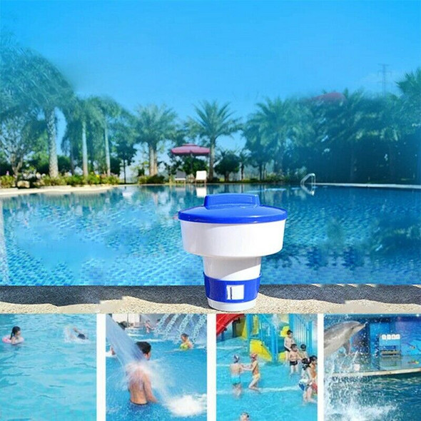 Swimming Pool Floating Pills Disinfecting Automatic Dispenser Floating Medi