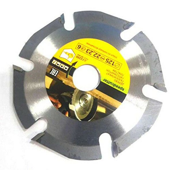 125mm 6T Circular Saw Blade Multitool Grinder Saw Disc Carbide Tipped Wood