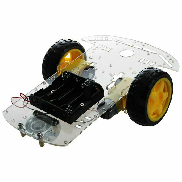 New 2WD Smart Motor Robot Car Chassis Battery Box Kit Speed Encoder for Ard
