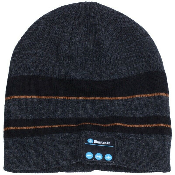 Bluetooth Music Soft Warm Beanie Hat Cap with Stereo Headphone Headset Spea
