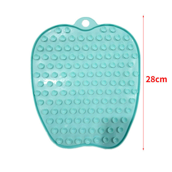 Shower Foot Scrubber Cleaner Massager With Non-Slip Suction Cups And Soft,E