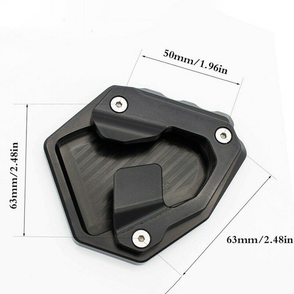 for CRF1000L Africa Twin 2016 2017 Side Stand Plate Kickstand Extension Foo