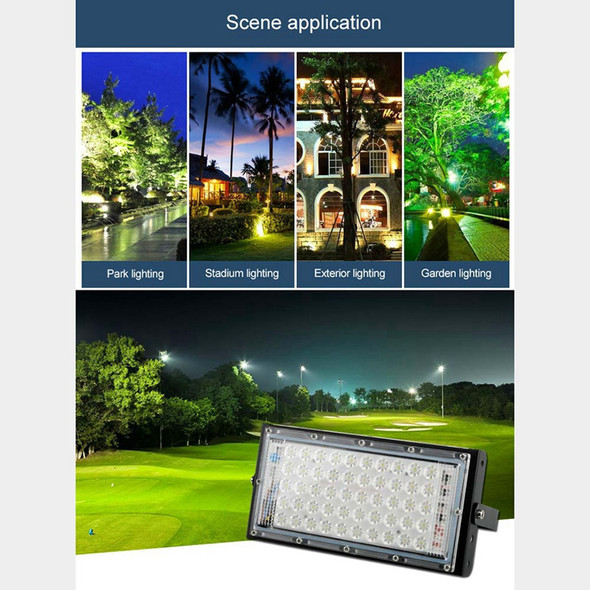 Led Flood Light 50W Outdoor Waterproof Billboard Projection Lamp Ip65 Wall