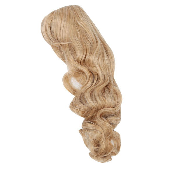 Sand/Strawberry Blonde Long Softly Waved Wig Charming Curly Costume Wig Hai