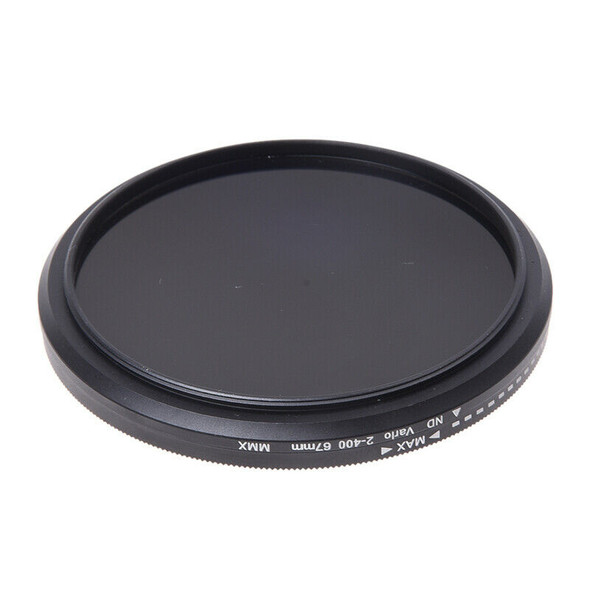Adjustable Fader ND Filter ND2 to ND400 for 67mm Neutral