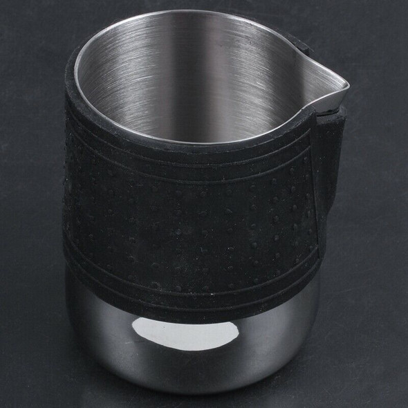 1X(Coffee Pull Cup, Pointed Mouth, Sessile, 304 Stainless Steel, Thickening