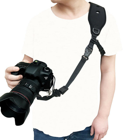 Camera Strap with Quick Release Neck Strap Safety Tether Compatible for Nik