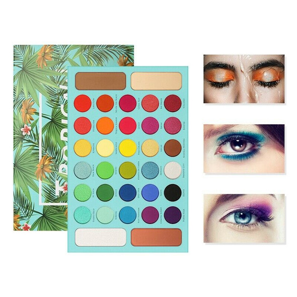 Docolor Professional Eyeshadow Palette 34 Color Charming Eye Shadow Palette