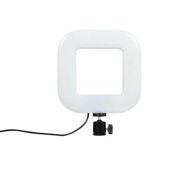 Square Photography Light 72 LED 15W Dimmable Brightness USB Selfie Light fo