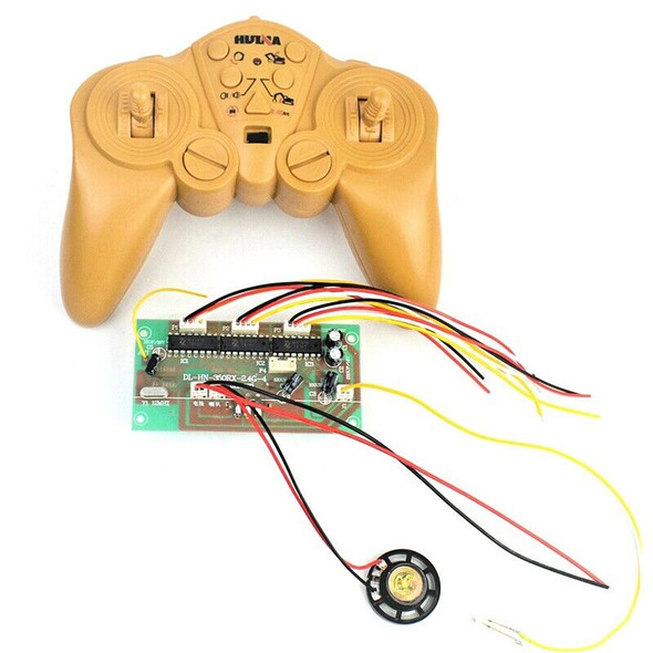 Huina 350 550 2.4G 50 Meters 15CH Remote Control and Receiver Board Radio S