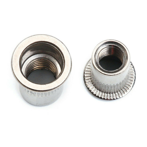 93Pcs Stainless Steel Rivnut Small Countersunk Head Riveted Nuts Insert Nut