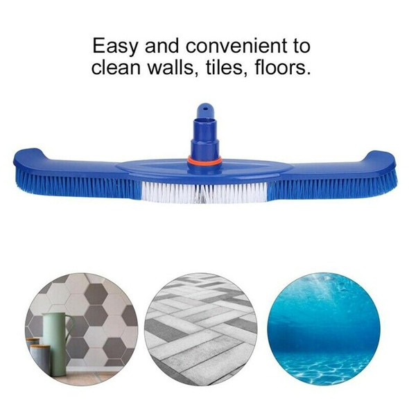 18 Inch Swimming Pool Cleaning Brush Pool Spa Cleaning Brush Type Suction H