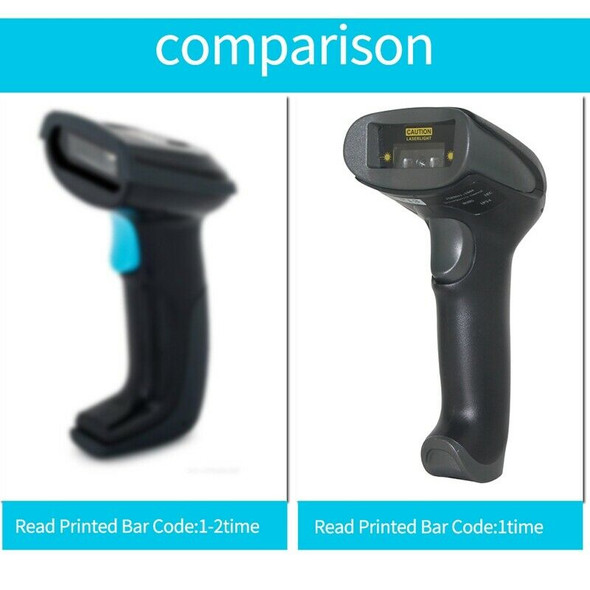 Netum F20 Handheld Wired Ccd Barcode Scanner Portable 32Bit Usb Cable A4 Ba