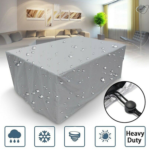 Waterproof Garden Patio Furniture Cover Covers Rattan Table Square Seat Out