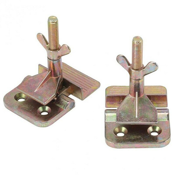 2 Pcs/Set Butterfly Hinge Clamp Silk Screen Printing Metal Butterfly Hinge