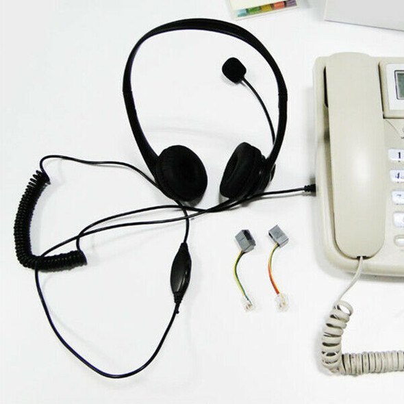 Wired Headset Music Headset Telephone Headset Headset Ht102R Telephone Rj-1