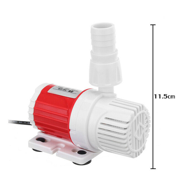 20W 12V Dc 1100L/H Submersible Water Pump Marine Controllable Adjustable Sp