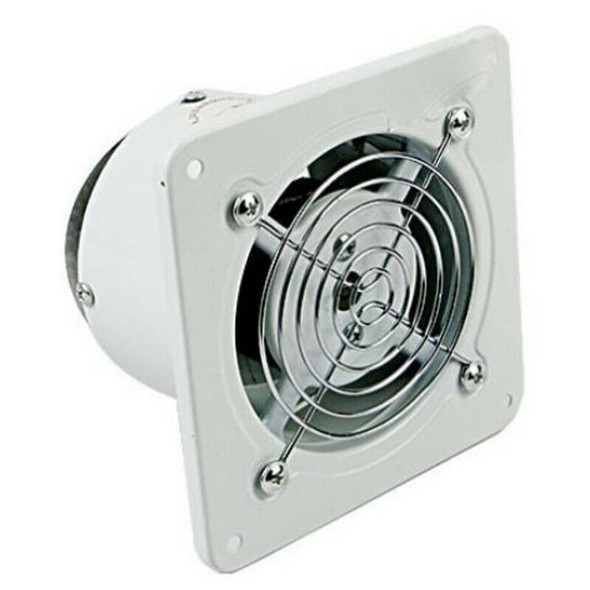 4 Inch 20W 220V Ventilating Exhaust Extractor Fan Window Wall Kitchen Toile