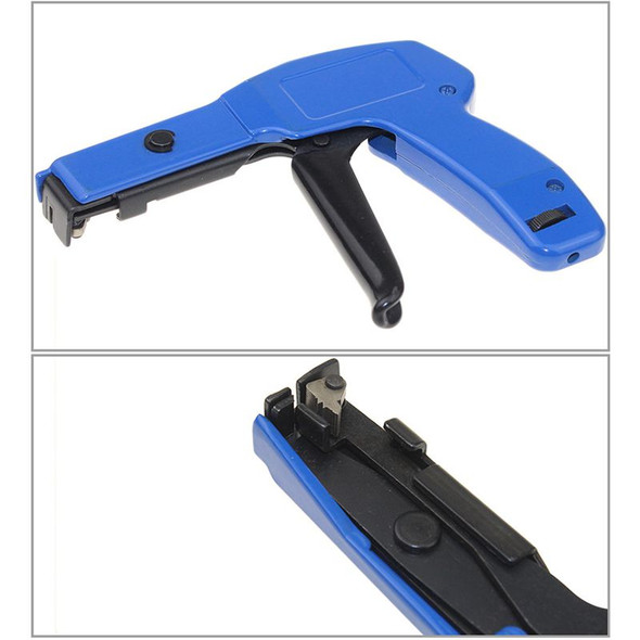 Hs-600A Nylon Cable Tie Tool Plier Clamp Automatic Fastening Cutting Tool S