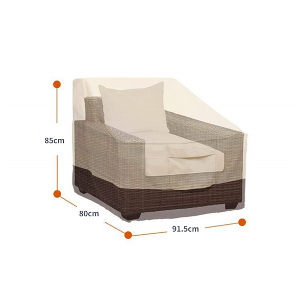 Waterproof Dust-Proof Patio Chair Covers Lounge Deep Seat Cover Heavy Duty