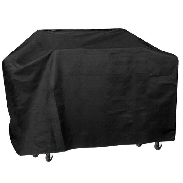 75'' Wide Waterproof BBQ Cover Gas Barbecue Grill Protection Black