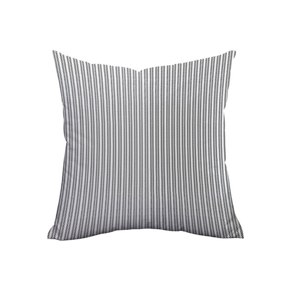 1X(Pack Of 4 Decorative Outdoor Pillow Cover Geometric Pattern Modern Style
