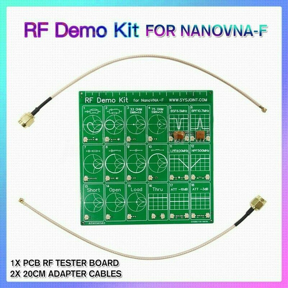 for NanoVNA RF Tester Board RF Demo Kit Filter Attenuator for NanoVNA-F Vec