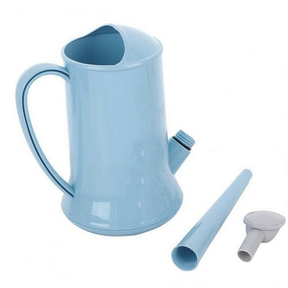 Traditional Watering Can Kettle Garden Long Spout 2 Litre Watering Can/Easy