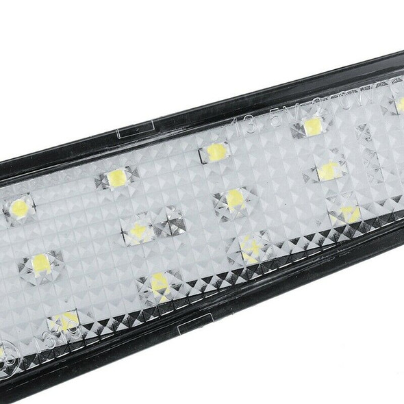 Pair 18-Smd Led License Plate Light Lamp for Cadillac Cts 4 Door Sedan 2008
