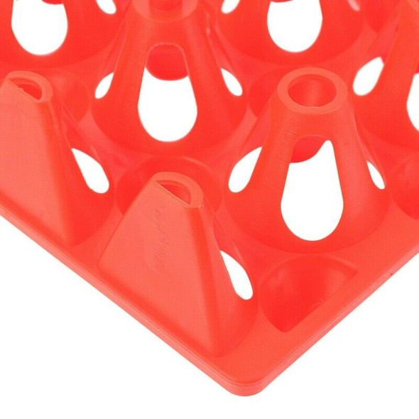 6 Pack Egg Trays for Incubator Storage Holds 30 Poultry Eggs