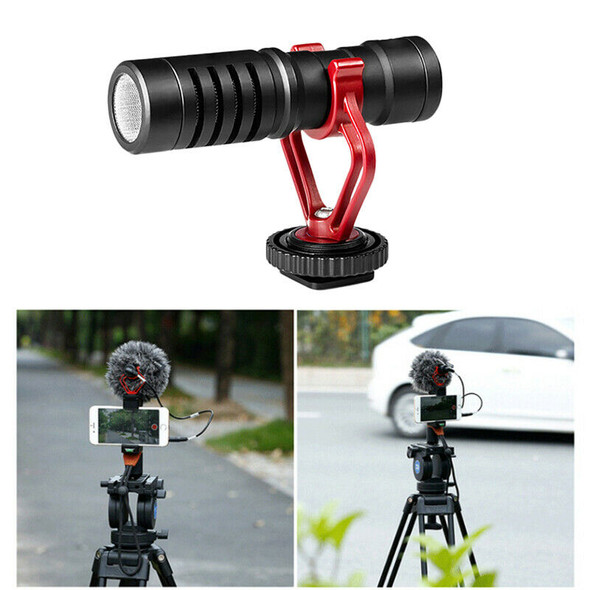 Camera Slr Interview Microphone Mobile Phone Broadcast Universal Condenser