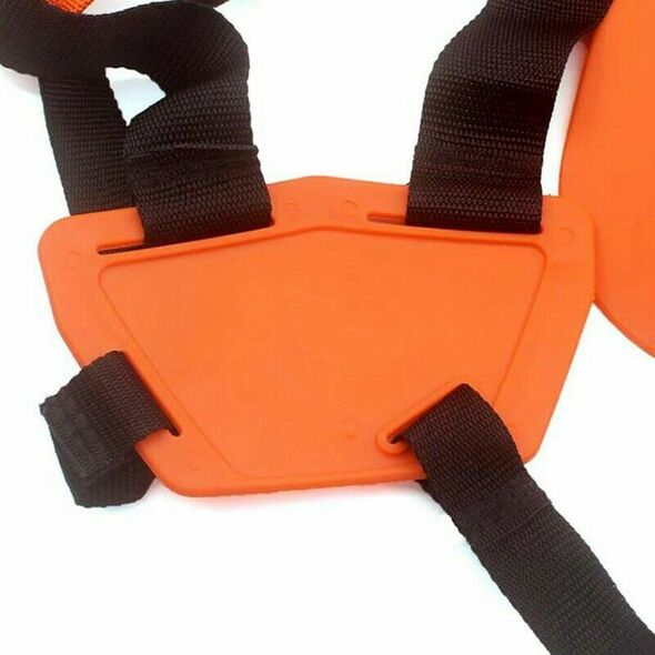 2X(Double Shoulder Strap Grass Trimmer Brush Cutter Harness Belt Garden Pow