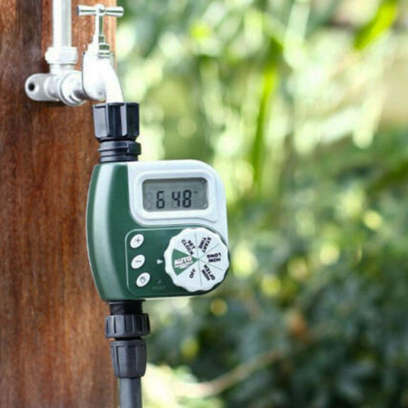 Electronic Garden Water Tap Timer Automatic Irrigation Controller Unit Digi