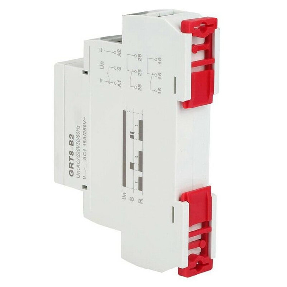GRT8-B2 Mini Single Function Control Din Rail Power Off Delay Time Relay AC
