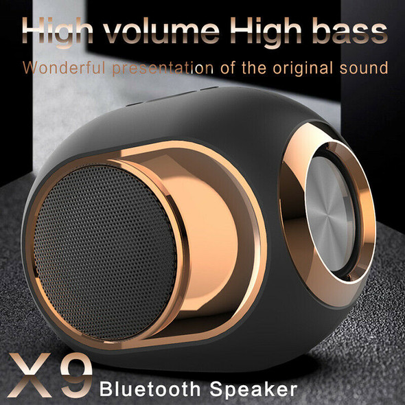 X6 Bluetooth Speaker Subwoofer Wireless TWS Bluetooth 5.0 Dual Channel Supp