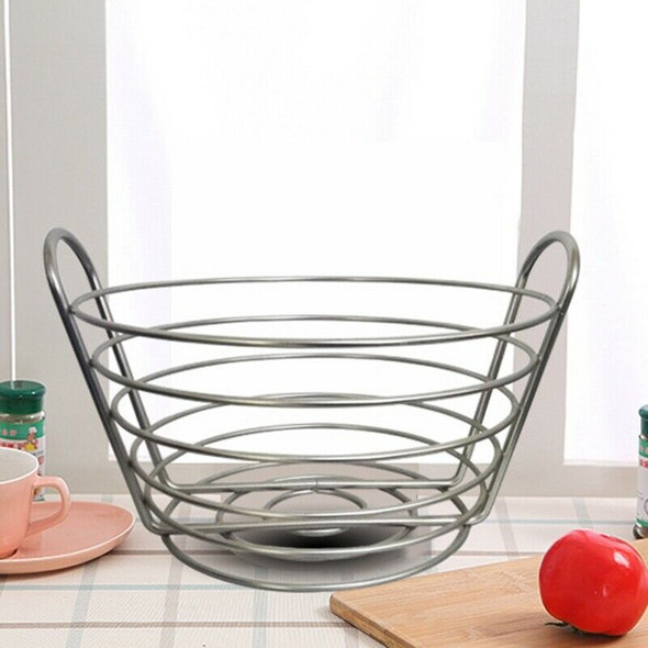 Modern Iron Art Fruit Vegetable Bowl Tray Plate Snack Candy Storage Contain
