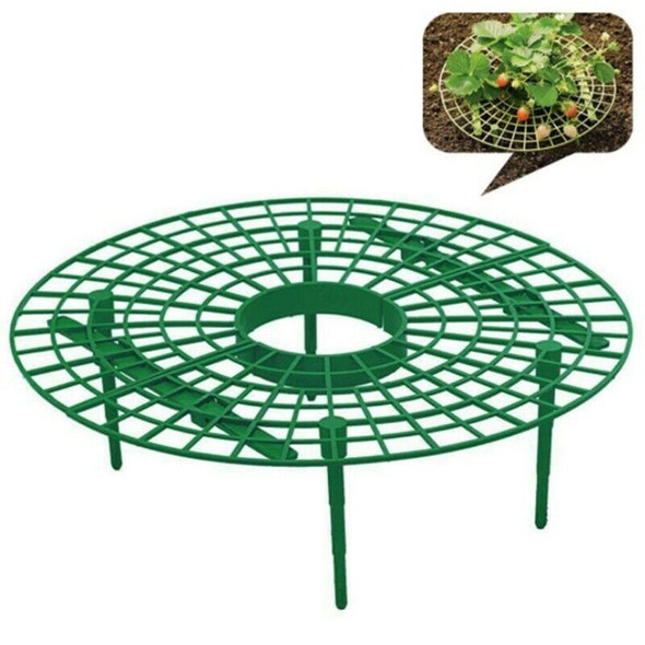 10Pcs Plant Plastic Tool Strawberry Growing Circle Support Rack Farming Fra