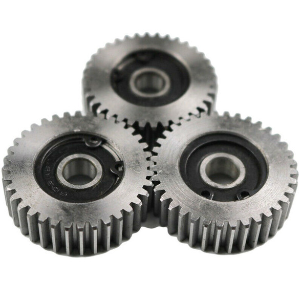 3 Pieces Gear Diameter:38 Mm 36 Tooth Thickness:12 Mm Electric Vehicle Stee