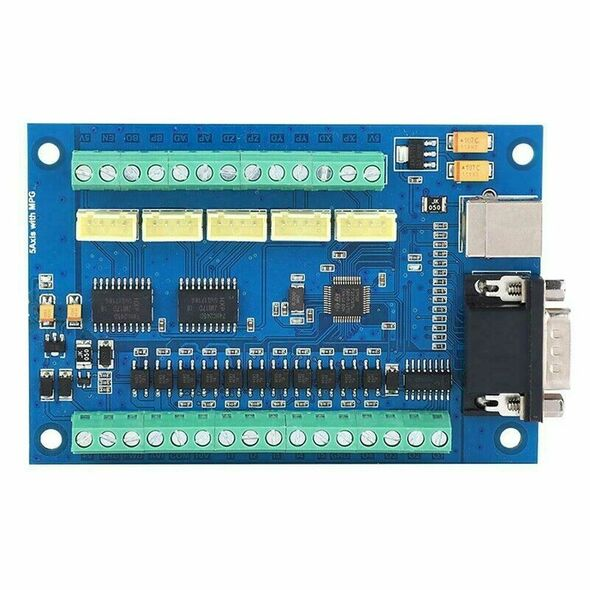 for MACH3 CNC Motion Control Card 5 Axis USB CNC Breakout Board for CNC 12-
