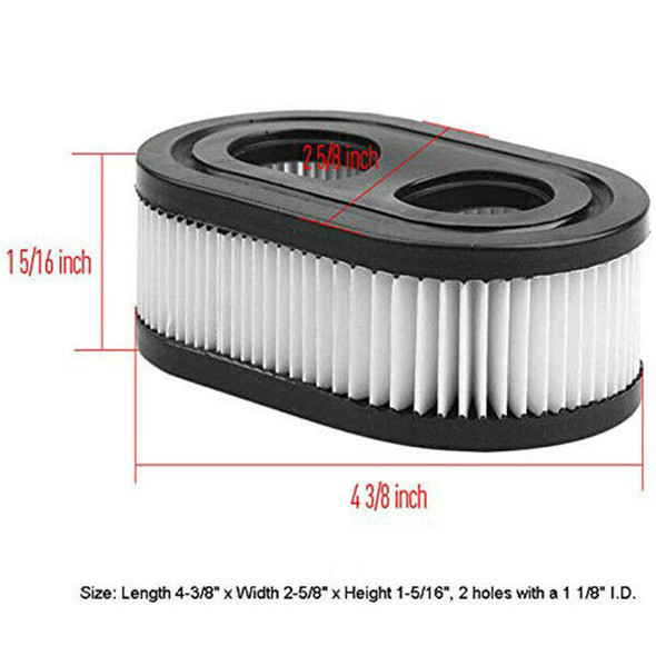 6Pack 593260 798452 Air Filter For Briggs & Stratton 550E To 725Exi Series