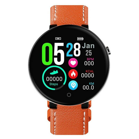 DT18 Smart Watch Round Press Screen Smartwatch Heart Rate Intelligent Fitne