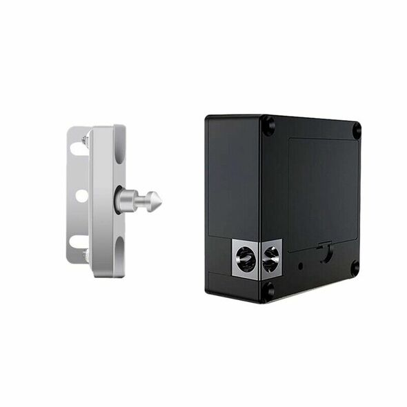 2X(Electronic Cabinet Lock Card Locker Diy Kit Fit For Wooden Drawer Cabine