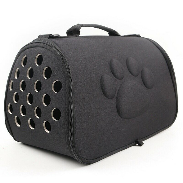 Dogs Cat Folding Pet Carrier Cage Collapsible Puppy Crate Handbag Carrying