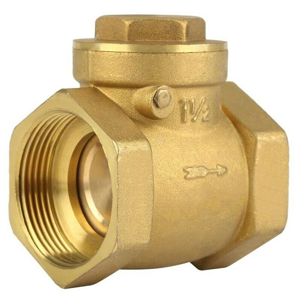 Internal Thread Brass Check-Back Swing Type Horizontal Check Valve 1.6Mpa T