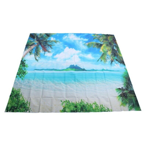 Large 8x8FT Palm Tree Backdrop Beach Background Photography Photo Studio Pr