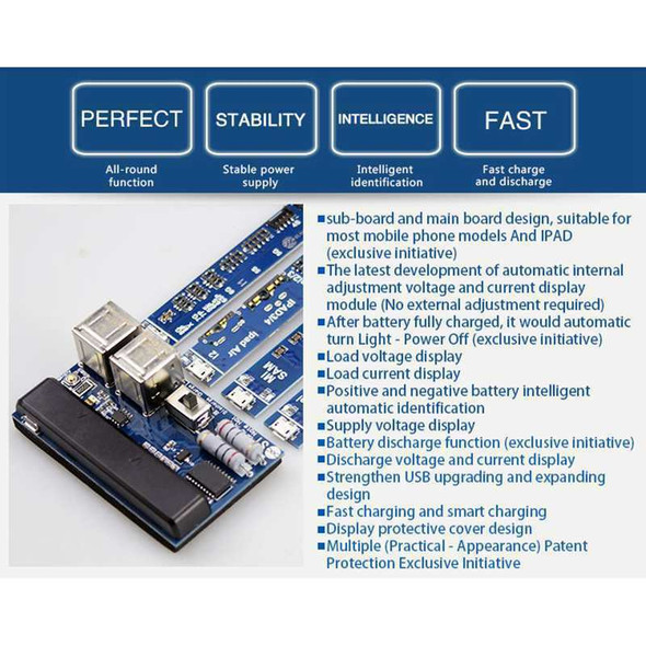 Mobile Phone Universal Battery Activation Board Quick Charge Pcb Tool With