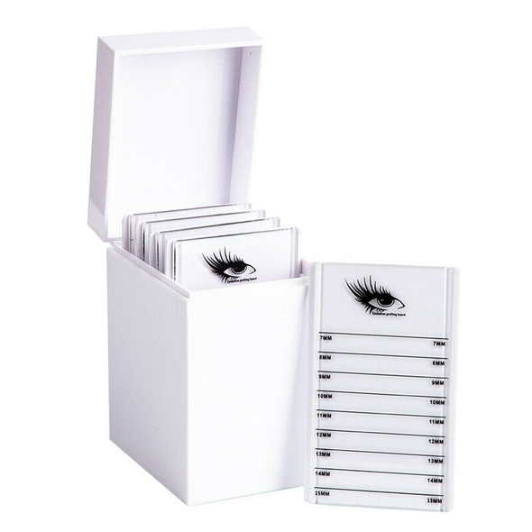 5 Layers Lashes Display Stand Organizer Box False Eyelashes Glue Pallet Eye